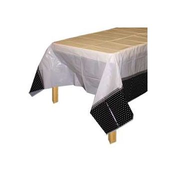 I DO   PLASTIC TABLE COVER