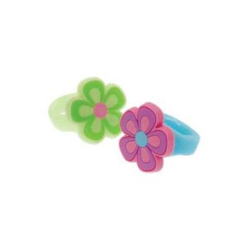 RUBBER FLOWER RINGS