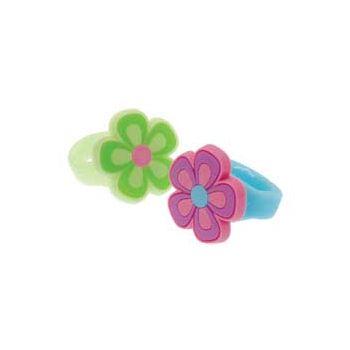RUBBER FLOWER RINGS