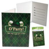 Irish Pub Invitations-8 Pack