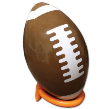 Inflatable Football and Tee - 39 Inch