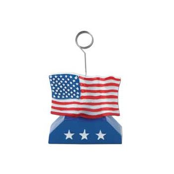 AMERICAN FLAG   BALLOON WEIGHT