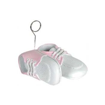PINK BABY SHOES   BALLOON WEIGHT