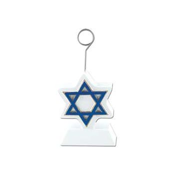 STAR OF DAVID   BALLOON WEIGHT