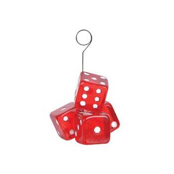 RED DICE   BALLOON WEIGHT