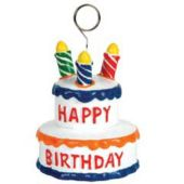 Birthday Cake Balloon Weight-3""