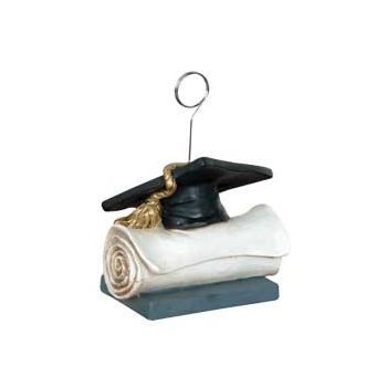 GRAD CAP & DIPLOMA   BALLOON WEIGHT