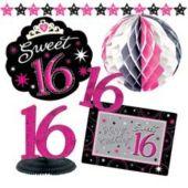 Sweet 16 Sparkle Decorating Kit