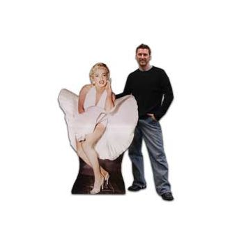 MARILYN MONROE   LIFE SIZE STAND UP