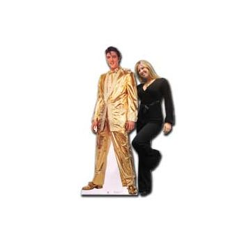 Elvis Life Size Cardboard Stand Up