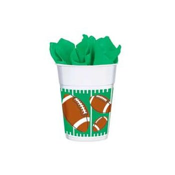 THE BIG GAME   14 oz PLASTIC  CUPS