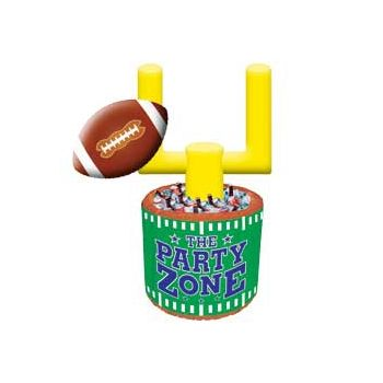 Inflatable Football Field Goal Cooler