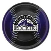 "Colorado Rockies 9"" Plates - 18 Pack"