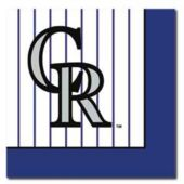Colorado Rockies Luncheon Napkins - 24 Pack