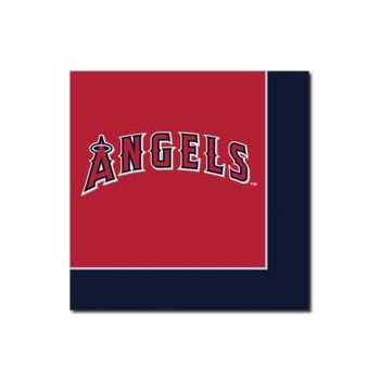 LOS ANGELES ANGELS   LUNCHEON NAPKINS