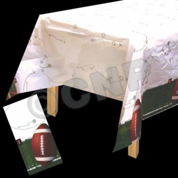 ALL PRO FOOTBALL   PLASTIC TABLE COVER