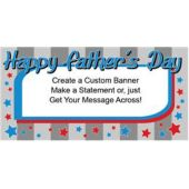 Happy FaThers Day Custom Banner