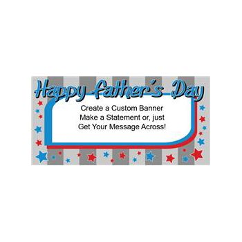 Happy Fathers Day Custom Banners