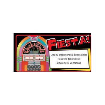 Bandera De Vinilo Diseño Fiesta!
