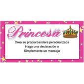 Bandera De Vinilo Diseño Princesa