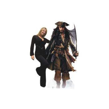 JACK SPARROW  LIFE SIZE STAND UP