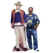 John Wayne Cardboard Stand Up Cut Out the Duke Standee