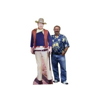 "JOHN ""DUKE"" WAYNE   LIFE SIZE STAND UP"