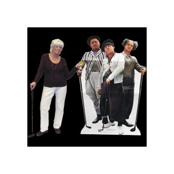3 STOOGES GOLF   LIFE SIZE STAND UP