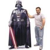 Darth Vader Cardboard Stand Up Cut Out Darth Vader Standee