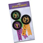 Halloween Award Ribbons-3 Pack