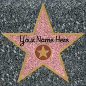 Walk Of Fame Stars - 12 Pack