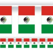 Mexican Flag Banner Decoration - 60'