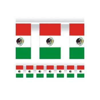 MEXICAN FLAG   60' FLAG BANNER