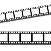 Filmstrip Border Trim Decoration