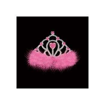 PRINCESS PINK   JEWELED TIARA