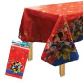 Mickeys Clubhouse Plastic Table Cover