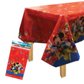 Mickey's Clubhouse   Plastic Table Cover