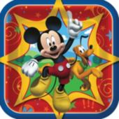 "Mickeys Clubhouse 7"" Paper Plates - 8 Pack"