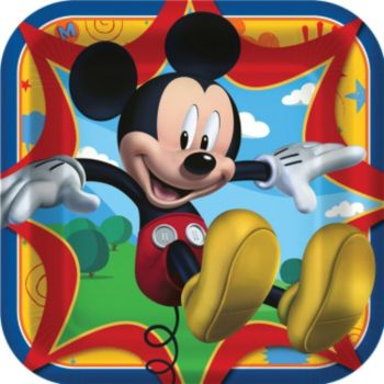 "Mickey's Clubhouse   9"" Dinner Plates"