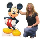 Disneys Mickey Mouse Cardboard Stand Up Cut Out
