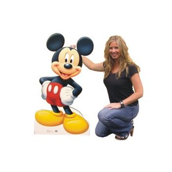 MICKEY MOUSE   LIFE SIZE STAND UP