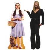 Dorothy And Toto Cardboard Stand Up Cut Out Wizard Of Oz