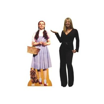 DOROTHY & TOTO  LIFE SIZE STAND UP