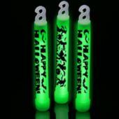 Green Halloween Glow Sticks - 6 Inch, 25 Pack