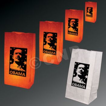 Barack Obama Luminary Bags - 50 Pack