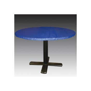 "ROYAL BLUE ROUND   60"" TABLE COVER"