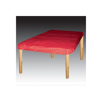 REAL RED   STAY PUT TABLE COVER