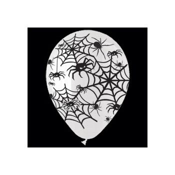 Spider Latex Balloons - 14 Inch, 25 Pack