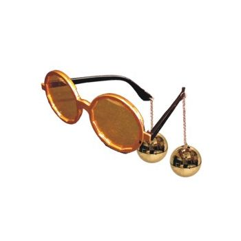 GOLD DISCO   SUNGLASSES