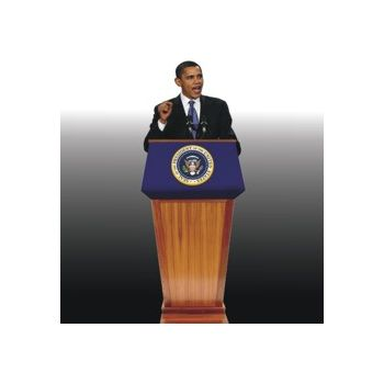 President Obama  Life Size Stand Up